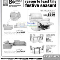 15 January 2011 Recliner Dining Set  sc 1 st  Singapore Promotions & Lorenzo Furniture Sofa Sale Price List January 2011 islam-shia.org