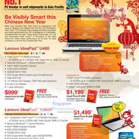 Read more about Lenovo Notebooks Desktops 10 - 30 January 2011 Special Offers