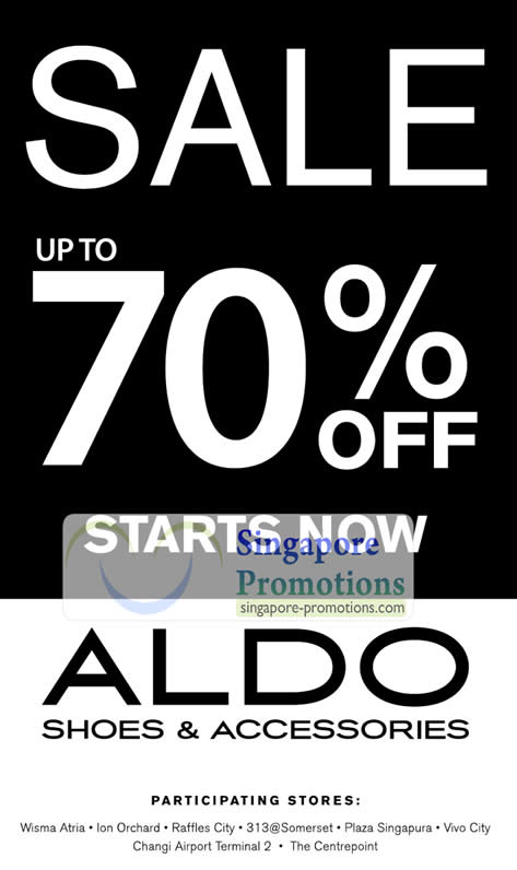 Aldo coupons march 2018