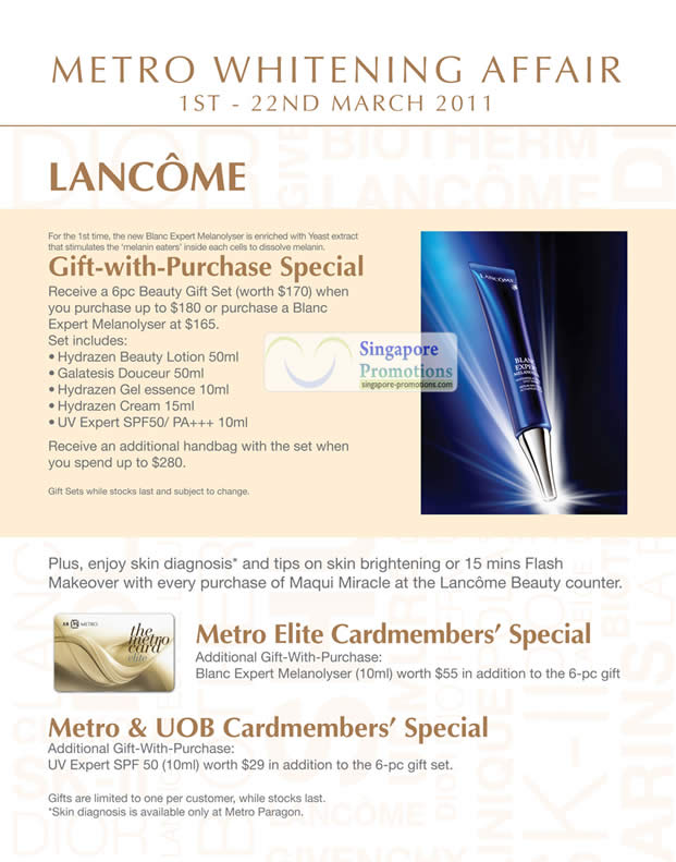 Lancome cashback discounts can be earned just by clicking through to Lancome and then shopping exactly as you would normally on their website.