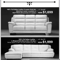 21 May Lorenzo Italian Leather Sofa L Shaped Leather  sc 1 st  Singapore Promotions & Lorenzo Sofa Furniture Purchase With Purchase Offer 22 Apr 2011 islam-shia.org