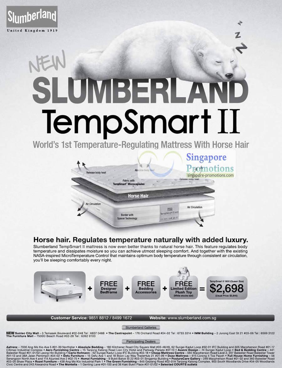 Slumberland TempSmart II 23 Apr 2011