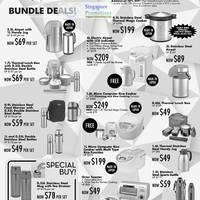 Read more about Takashimaya Kitchenware, Golf, Mattresses, Apparel, Etc Great Singapore Sale 26 May 2011