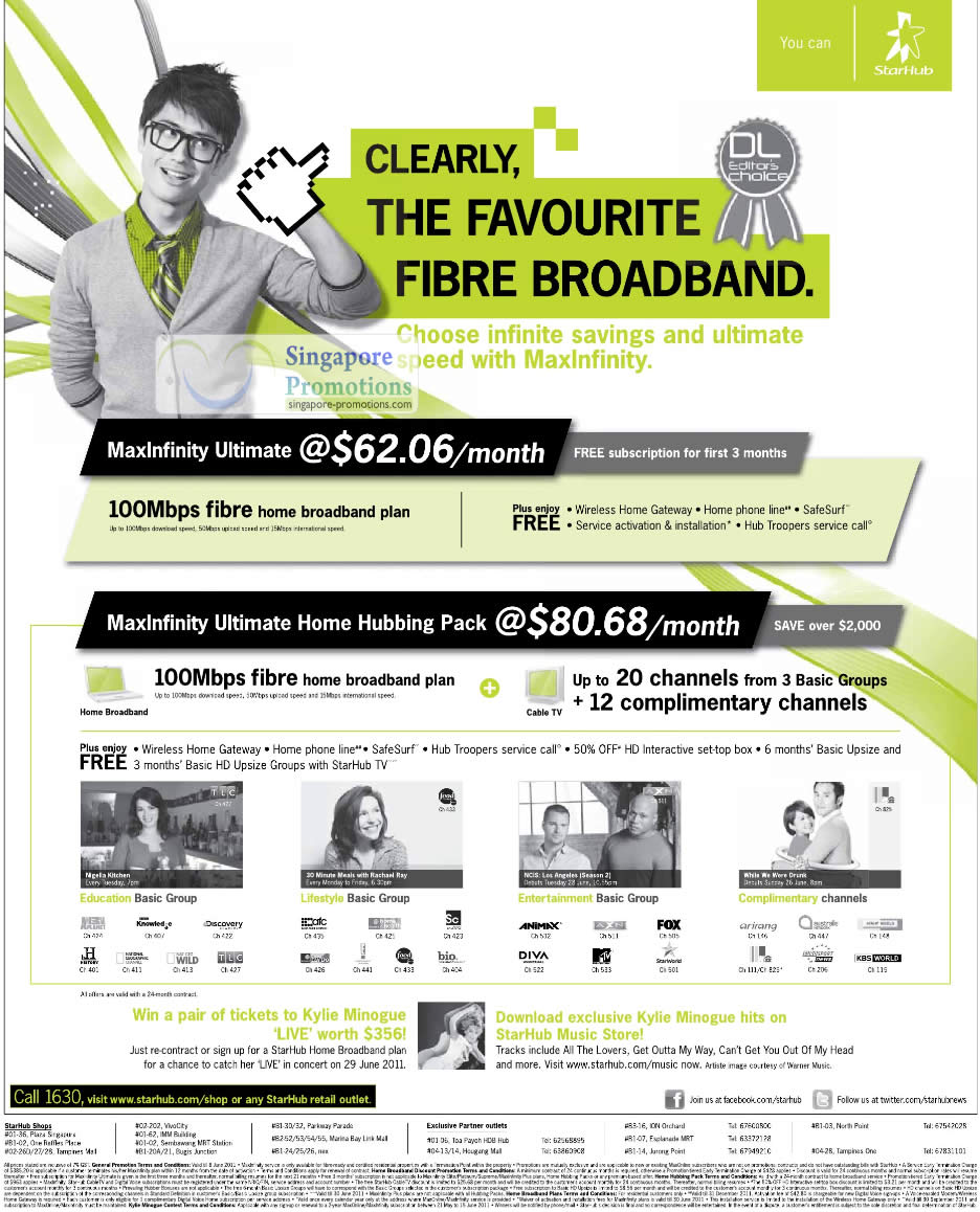 Fibre, MaxInfinity Ultimate, Home Hubbing Pack, Cable TV, Pay TV