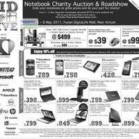 Read more about Newstead Notebooks Charity Auction & Microsoft, Mobile Phones Roadshow 5 - 15 May 2011