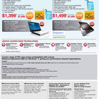 Read more about Lenovo Notebooks & Desktop PCs Price List 12 - 29 May 2011