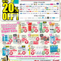 Read more about Watsons Up To 20% Off Sale 19 May - 29 Jun 2011
