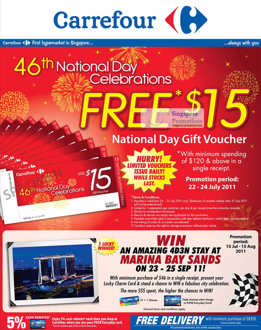 National Day Free 15 Dollar Voucher