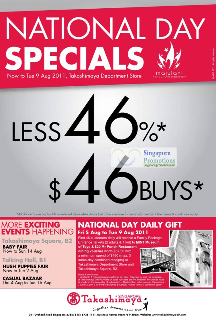 National Day Special 46 Percent Off