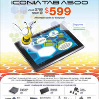 Read more about Acer Notebooks, Tablets, Mini PCs, Desktop PCs, AIOs & Netbooks Price List 14 - 31 Jul 2011