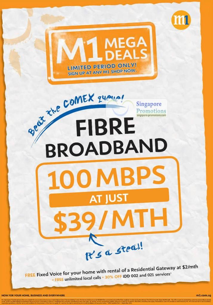 Comex 2011 Fibre Broadband 100Mbps