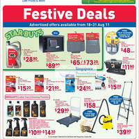 Read more about FairPrice Xtra Household, Electronics, Kitchenware & Fans Special Offers 18 - 31 Aug 2011