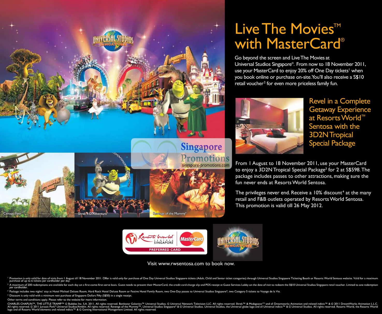 Universal Studios 14 Aug 2011