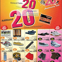 Read more about World of Sports $20 Items, $40 Items & 20% Off Sale 4 Aug - 30 Sep 2011