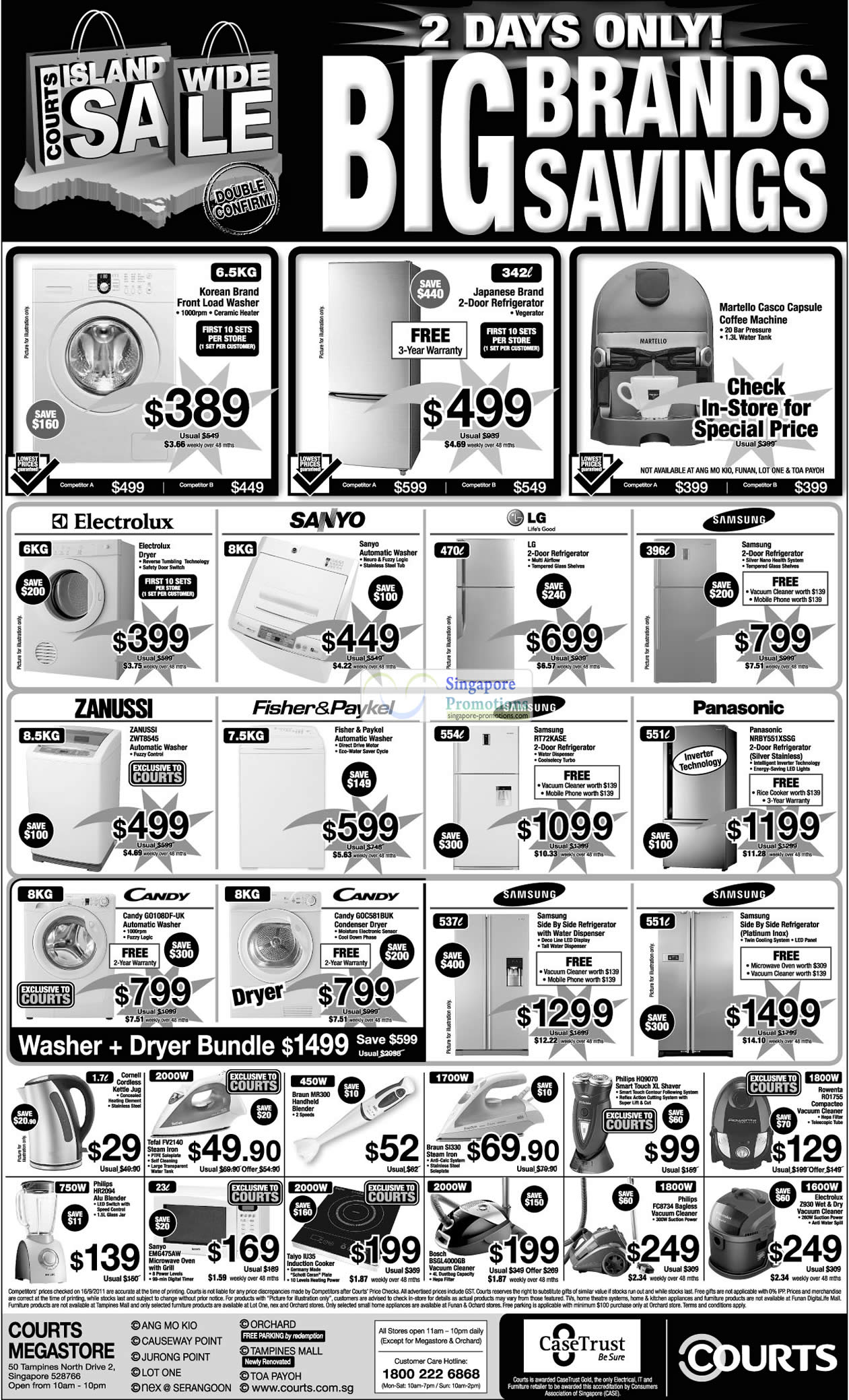 17 Sep Panasonic NRBY551XSSG Fridge, Samsung RT72KASE, Zanussi ZWT8545 Washing Machine, Candy GO108DF-UK, GOC581BUK Condenser Dryer