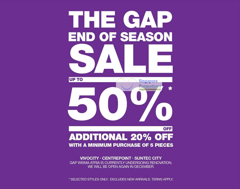 7 Oct Up To 50 Percent Off