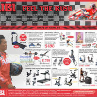 Read more about AIBI Gym Equipment Roadshow @ Suntec 12 - 18 Sep 2011
