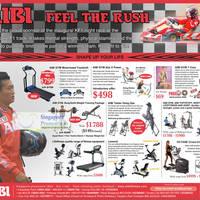 Read more about AIBI Gym Equipment Roadshow @ Suntec 12 - 18 Sep 2011