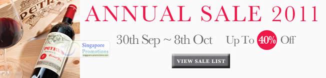 Annual Sale 2011
