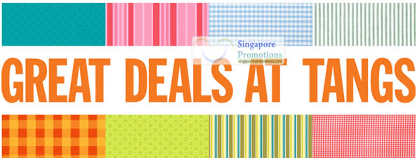Great Deals At Tangs