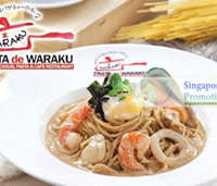 Read more about LIMITED OFFER: Pasta De Waraku 50% Off Japanese Cuisine 12 Sep 2011