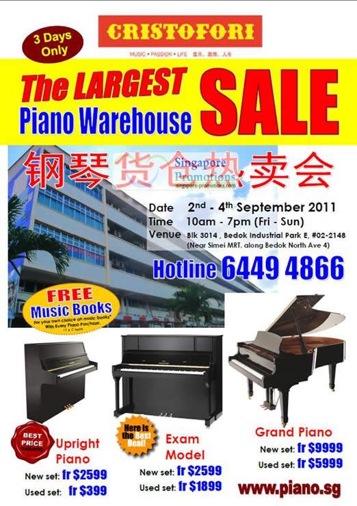Upright Piano, Exam Model, Grand Piano