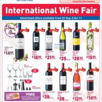 Read more about FairPrice Kids, Wine, Bed, Electronics & Home Appliances Special Offers 22 Sep - 5 Oct 2011