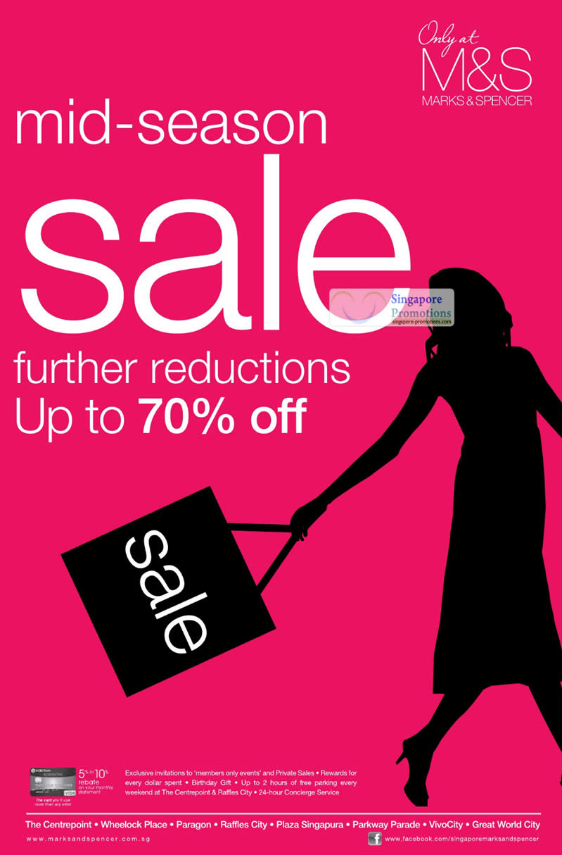 20 Oct Further Reductions Up To 70 Percent Off