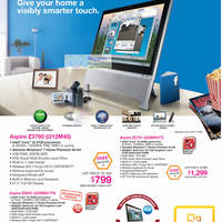 Read more about Acer Notebooks, Tablets, Mini PCs, Desktop PCs, AIOs & Netbooks Price List 31 Oct  - 20 Nov 2011