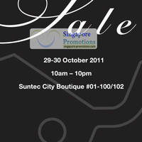 Read more about Braun Buffel Sale @ Suntec City 29 - 30 Oct 2011