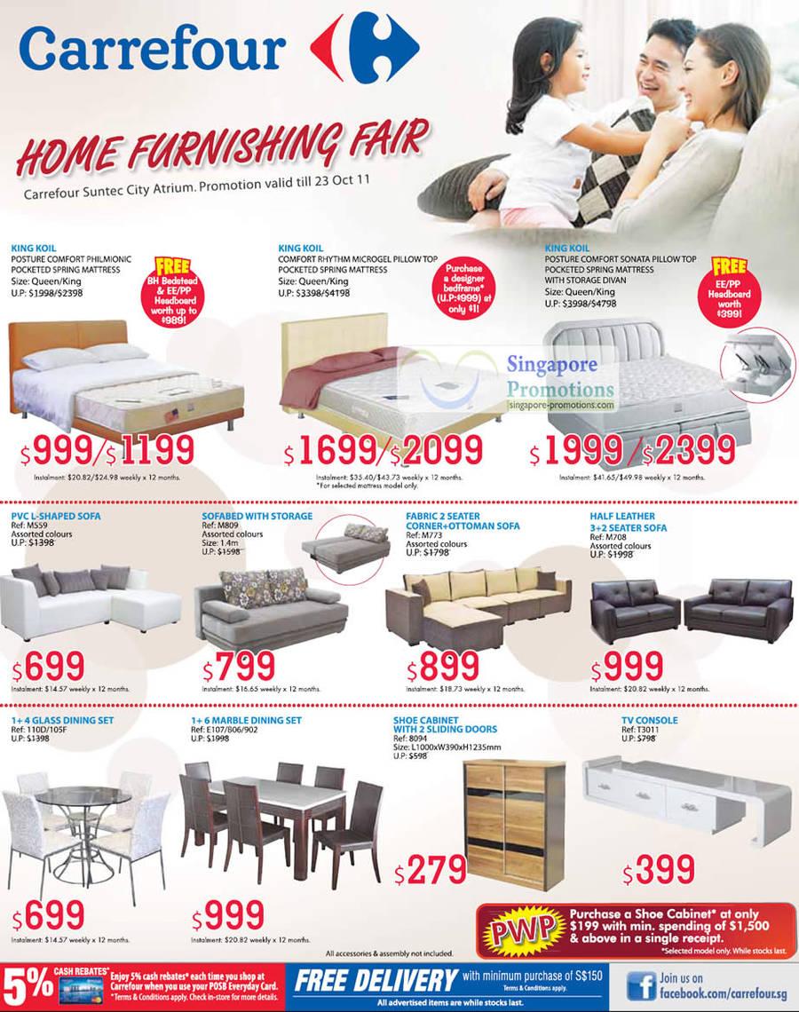 Carrefour Home Furnishing Mattress Furniture Fair 21