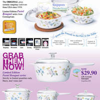 Read more about Corningware Pastel Bouquet Series Special Offer Promotion 28 Oct - 4 Dec 2011