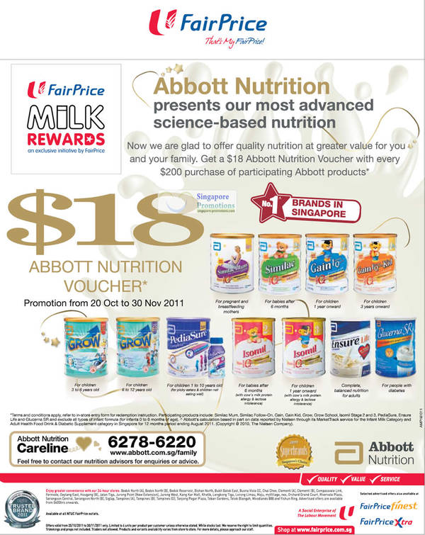 FairPrice Abbott 20 Oct 2011