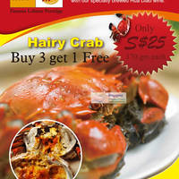 Read more about The Orange Lobster 3-for-1 Hairy Crabs & 1-for-1 Lobster Porridge Promotion 22 Oct - 30 Nov 2011