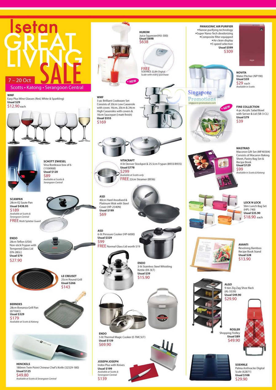 Isetan Great Living 4 Oct 2011