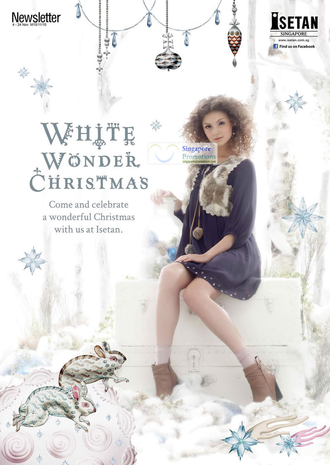 Isetan White Wonder Christmas Details