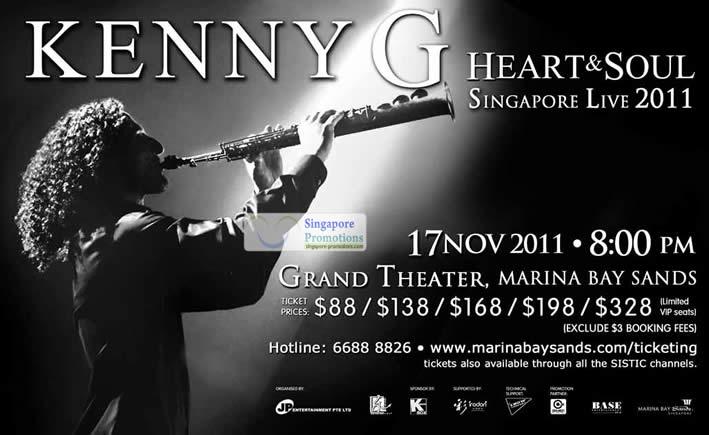 Kenny G Heart Amp Soul Live Singapore Concert Marina Bay