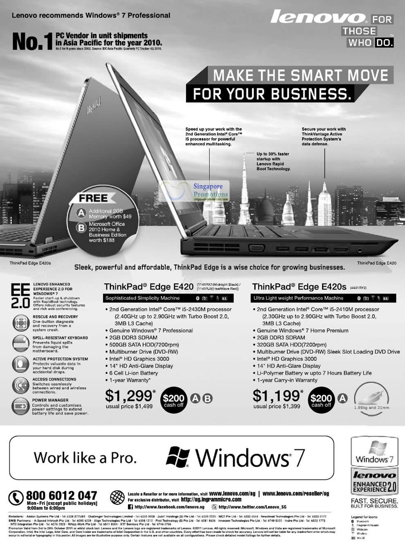 Lenovo 5 Oct 2011