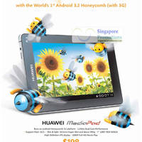Read more about Huawei MediaPad Android 3.2 Honeycomb Tablet Now Available 12 Oct 2011
