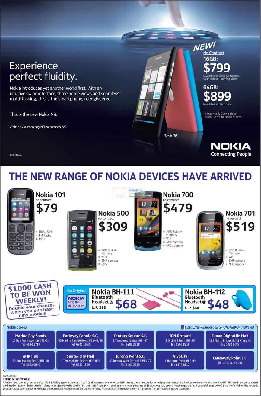 Nokia 15 Oct 2011