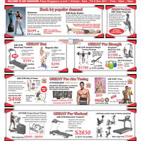Read more about AIBI Gym Equipment Roadshow Special Offers @ Plaza Singapura 5 - 6 Nov 2011