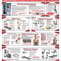 Read more about AIBI Gym Equipment Roadshow Special Offers @ Plaza Singapura 5 - 6 Nov 2011