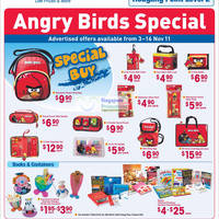 Read more about NTUC Fairprice Angry Birds, Travel, Electronics, Wine & Storage Solutions Special Offers 3 - 16 Nov 2011