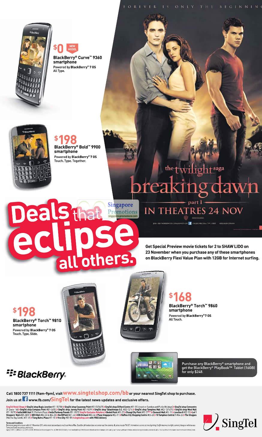 Blackberry Curve 9360, Blackberry Bold 9900, Blackberry Torch 9810, Blackberry Torch 9860
