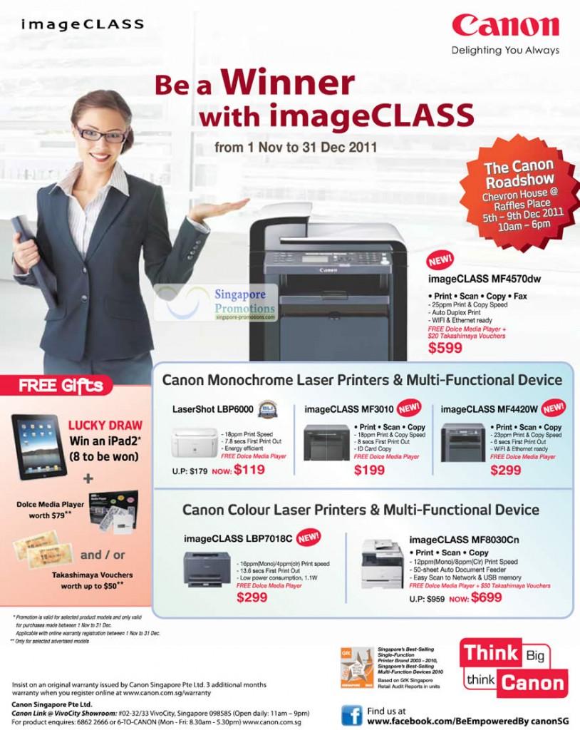 anon LaserShot LBP6000, Canon ImageCLASS MF4570dw, Canon ImageCLASS MF3010, Canon ImageCLASS MF420W, Canon ImageCLASS LBP7018C and Canon ImageCLASS MF8030Cn