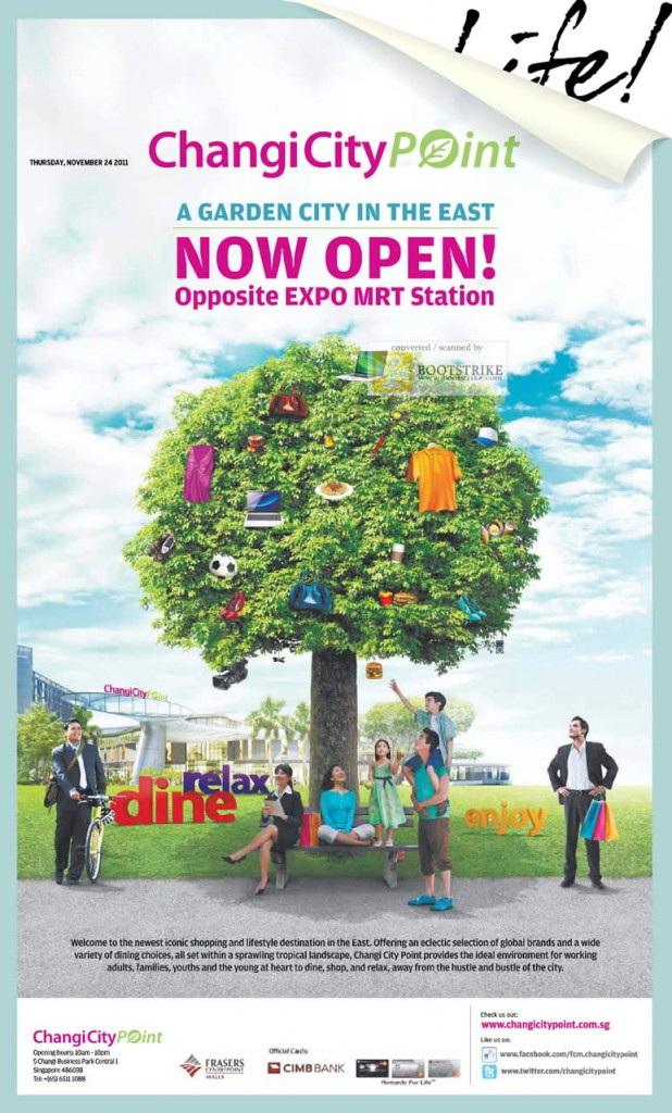 Changi City Point Now Open