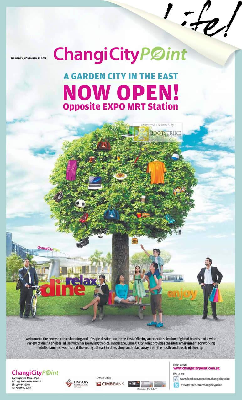 Changi City Point Now Open