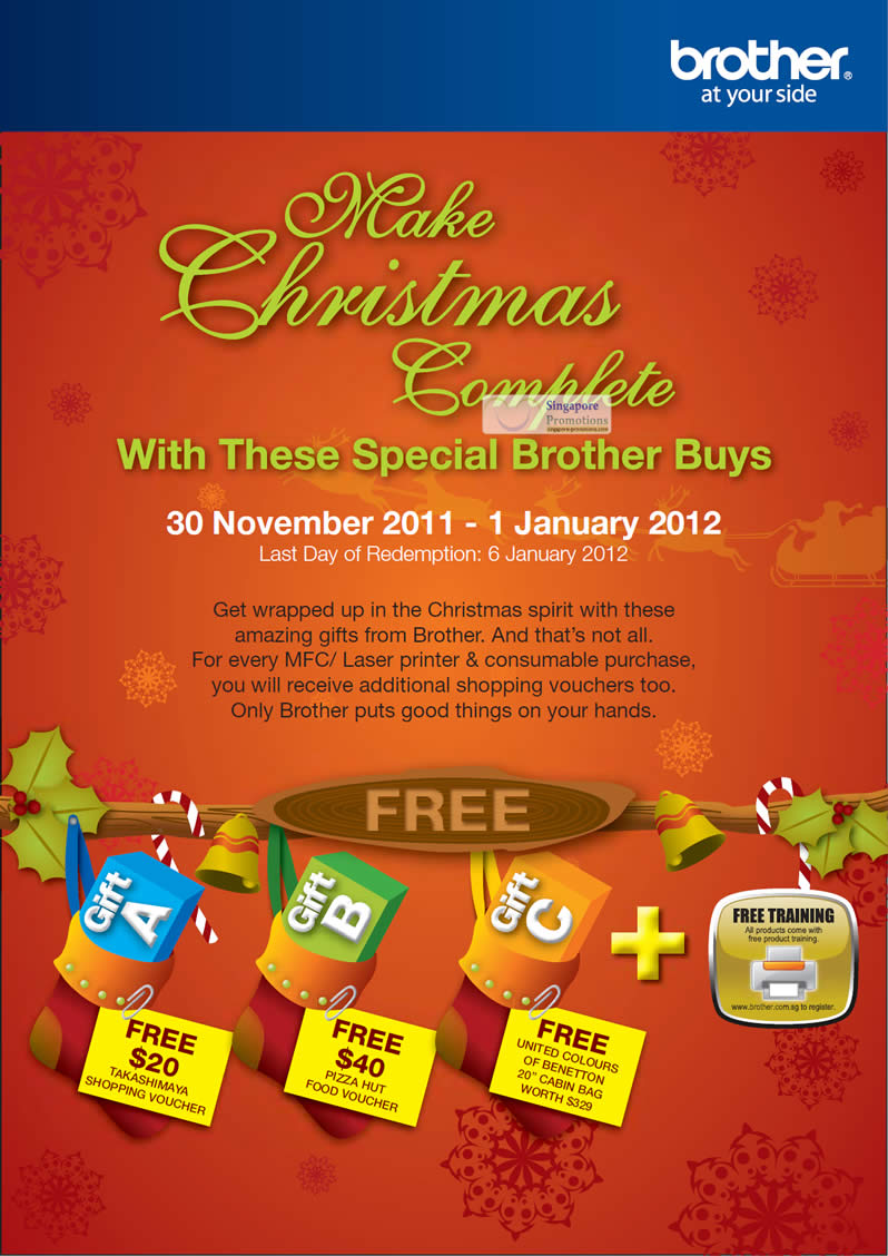 Christmas Complete Brother Special Buys, Gifts