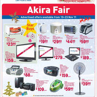 Read more about Fairprice Akira Products Fair 10 Nov - 23 Nov 2011