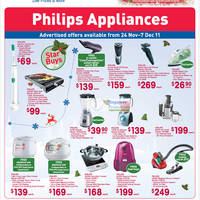 Read more about Fairprice Philips Electronics, Appliances & Kitchenware Offers 24 Nov - 7 Dec 2011